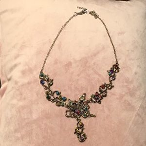 Jewelry - Multi-color Butterfly necklace